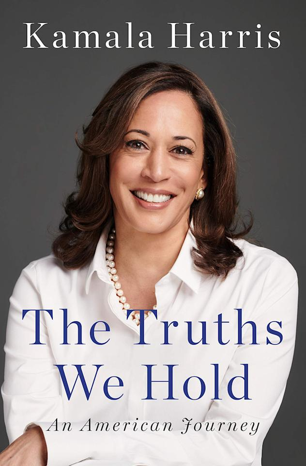 """<p>Senator Kamala Harris has blessed us with an insightful look into her life in <a href=""""https://www.popsugar.com/buy?url=https%3A%2F%2Fwww.amazon.com%2FTruths-We-Hold-American-Journey%2Fdp%2F0525560718%2Fref%3Dsr_1_2%3Fs%3Dbooks%26ie%3DUTF8%26qid%3D1549493764%26sr%3D1-2%26keywords%3DThe%2BTruths%2BWe%2BHold%2Bby%2BKamala%2BHarris&p_name=%3Cstrong%3EThe%20Truths%20We%20Hold%3A%20An%20American%20Journey%3C%2Fstrong%3E&retailer=amazon.com&evar1=buzz%3Aus&evar9=45661327&evar98=https%3A%2F%2Fwww.popsugar.com%2Fphoto-gallery%2F45661327%2Fimage%2F47332970%2FTruths-We-Hold-American-Journey&list1=books%2Cwomen%2Creading%2Cblack%20history%20month%2Cbest%20of%202019%2Cblack%20women&prop13=api&pdata=1"""" rel=""""nofollow"""" data-shoppable-link=""""1"""" target=""""_blank"""" class=""""ga-track"""" data-ga-category=""""Related"""" data-ga-label=""""https://www.amazon.com/Truths-We-Hold-American-Journey/dp/0525560718/ref=sr_1_2?s=books&amp;ie=UTF8&amp;qid=1549493764&amp;sr=1-2&amp;keywords=The+Truths+We+Hold+by+Kamala+Harris"""" data-ga-action=""""In-Line Links""""><strong>The Truths We Hold: An American Journey</strong></a>, a book that explores her journey from young daughter of two immigrant civil rights activists to California attorney general and beyond. </p>"""