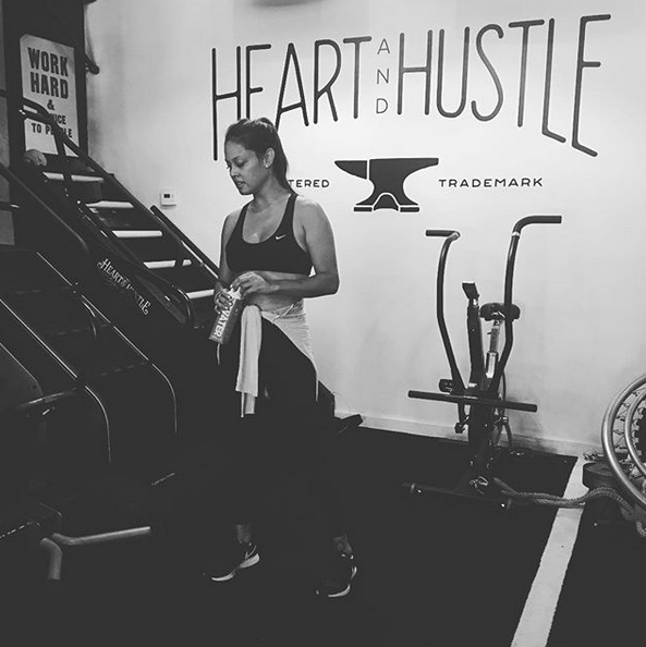 """<p>""""It took a solar eclipse to get me to the gym apparently! Haha! I haven't set foot in a gym in over a year because… well… life happens!"""" shared the actress and mom of three. """"Balance is key, though. My family is my #1 priority. I'm finding 'my' balance still every day, every week, every month and every year. Live in the moment! Enjoy the ride! And to all you working mamas out there — LETS DO THIS!"""" (Photo: <a href=""""https://www.instagram.com/p/BYFQ4WzAg0w/?taken-by=vanessalachey"""" rel=""""nofollow noopener"""" target=""""_blank"""" data-ylk=""""slk:Vanessa Lachey via Instagram"""" class=""""link rapid-noclick-resp"""">Vanessa Lachey via Instagram</a>) </p>"""