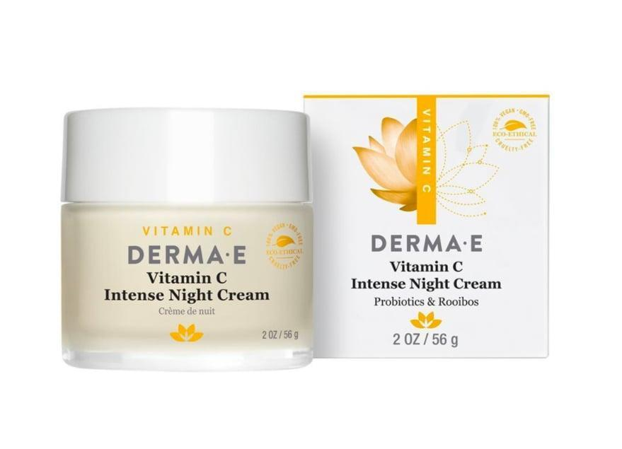 <p>Restore your skin while you sleep with this <span> Derma E Vitamin C Intense Night Cream </span> ($18). It is rich in antioxidants and vitamin C, which help protect your skin from the daily elements. </p>
