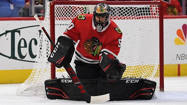 <p>A rundown of injury updates and lineup changes for the Blackhawks following Wednesday's practice, including an update on Corey Crawford's status.</p>