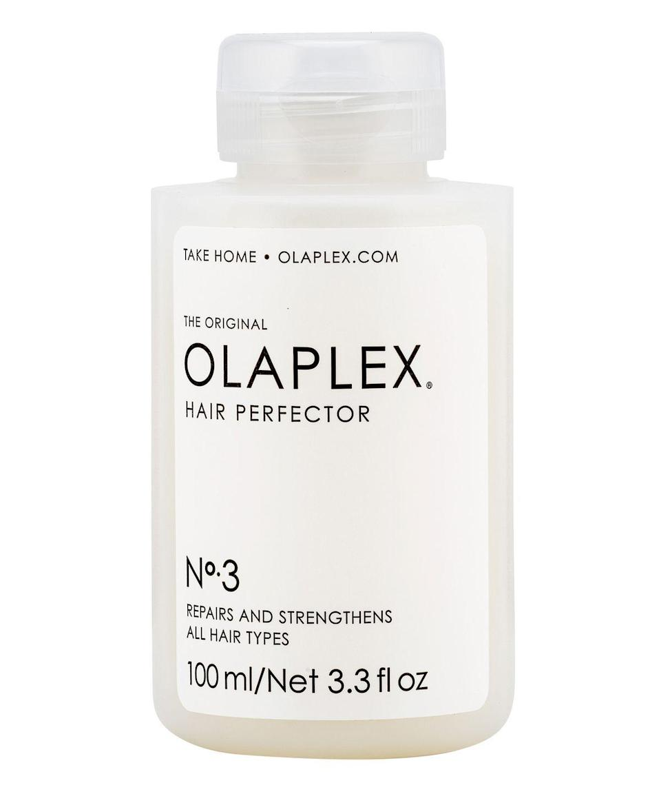 "<p>Ask any colorist the one at-home hair product they recommend to their clients, and we'd bet you $28 they'd say <a href=""https://www.refinery29.com/en-gb/olaplex-shampoo-conditioner"" rel=""nofollow noopener"" target=""_blank"" data-ylk=""slk:Olaplex"" class=""link rapid-noclick-resp"">Olaplex</a>.</p><br><br><strong>Olaplex</strong> Olaplex Hair Perfector No. 3, $28, available at <a href=""https://www.sephora.com/product/olaplex-hair-perfector-no-3-P428224#locklink"" rel=""nofollow noopener"" target=""_blank"" data-ylk=""slk:Sephora"" class=""link rapid-noclick-resp"">Sephora</a>"