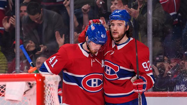 The Montreal Canadiens will be testing their depth with Jonathan Drouin and Paul Byron needing surgery. (Photo by Vincent Ethier/Icon Sportswire)
