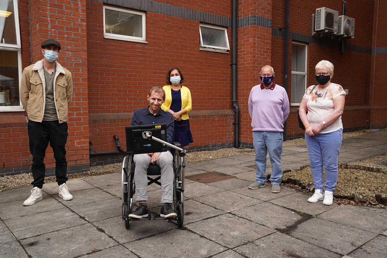 The current MND centre where Mr Burrows has received care was featured in his BBC documentary. (Leeds Hospitals Charity/PA)