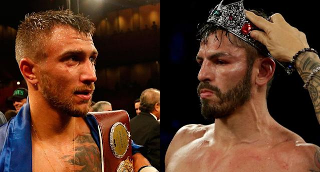 Vasiliy Lomachenko vs. Jorge Linares is currently one of the best fights that can be made in boxing. (Getty)