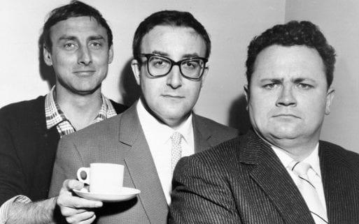 Tea for Goons' - Spike Milligan, Peter Sellers and Harry Secombe in The Goon Show, broadcast on the BBC Home Service in 1958. - BBC