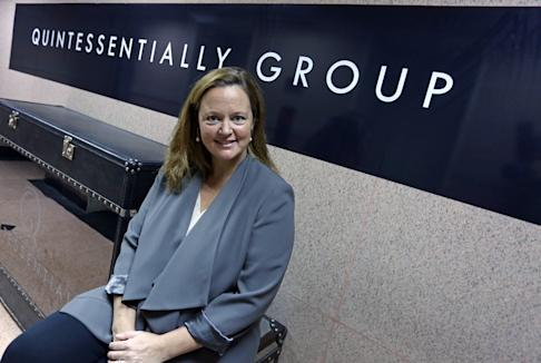 Emma Sherrard Matthew, CEO Asia Pacific, Quintessentially Group in Sheung Wan on 12 August 2015. Photo: SCMP