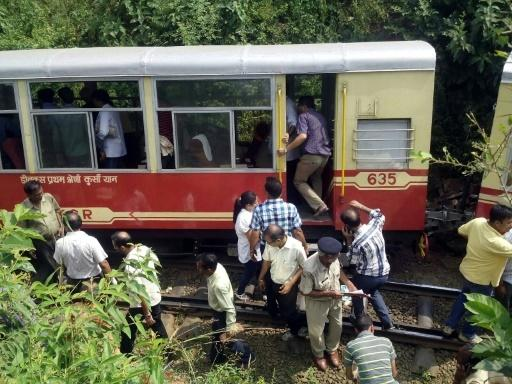 Two Britons killed after train derails in northern India: police