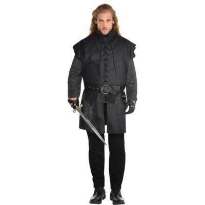 """<p>partycity.com</p><p><strong>$29.99</strong></p><p><a href=""""https://www.partycity.com/adult-black-warrior-tunic-plus-size-P890023.html?dwvar_P890023_size=Plus&cgid=group-costumes-tv-movie"""" rel=""""nofollow noopener"""" target=""""_blank"""" data-ylk=""""slk:Shop Now"""" class=""""link rapid-noclick-resp"""">Shop Now</a></p><p>If you don't come to the party accompanied by a singing bard, are you even a Witcher, bro?</p>"""