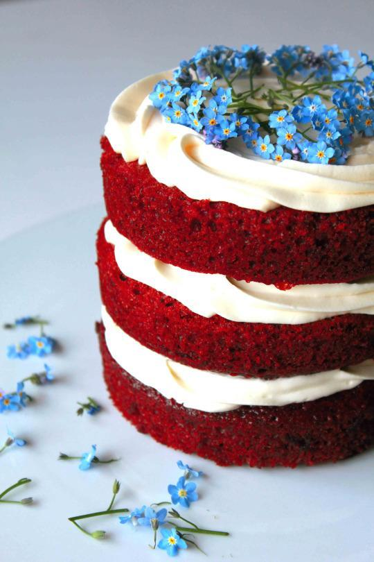 Cake of the Day: Red Velvet Cake with Cream Cheese Frosting