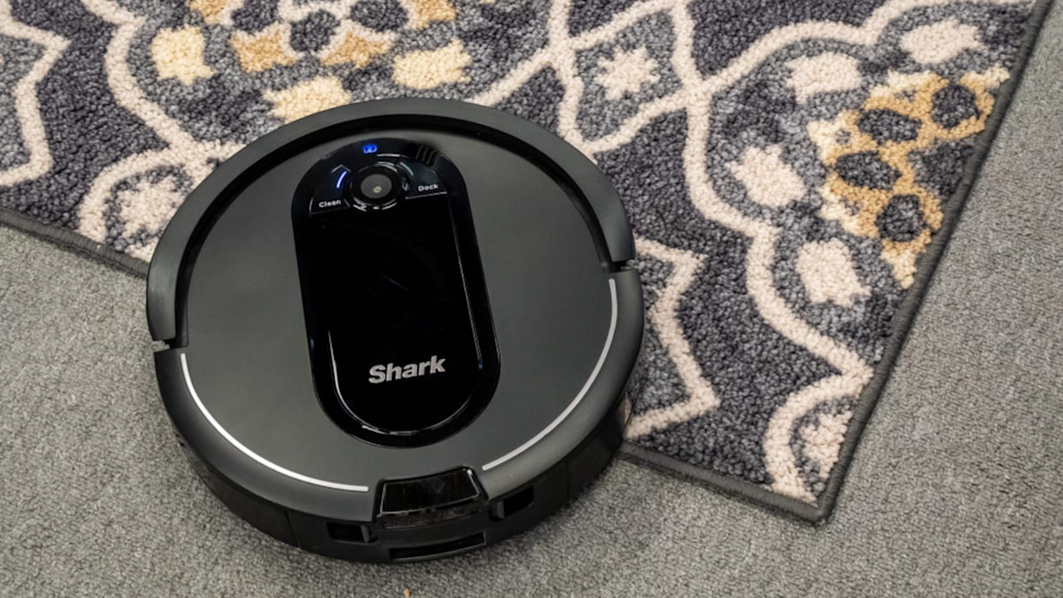 The Shark IQ R101AE comes with a more affordable price tag than robot vacuums with similar features, but we found it was a little hard to use at times.