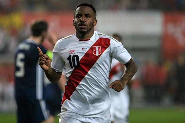 <p>Jefferson Farfan is part of the Peru squad valued at €59m. </p>
