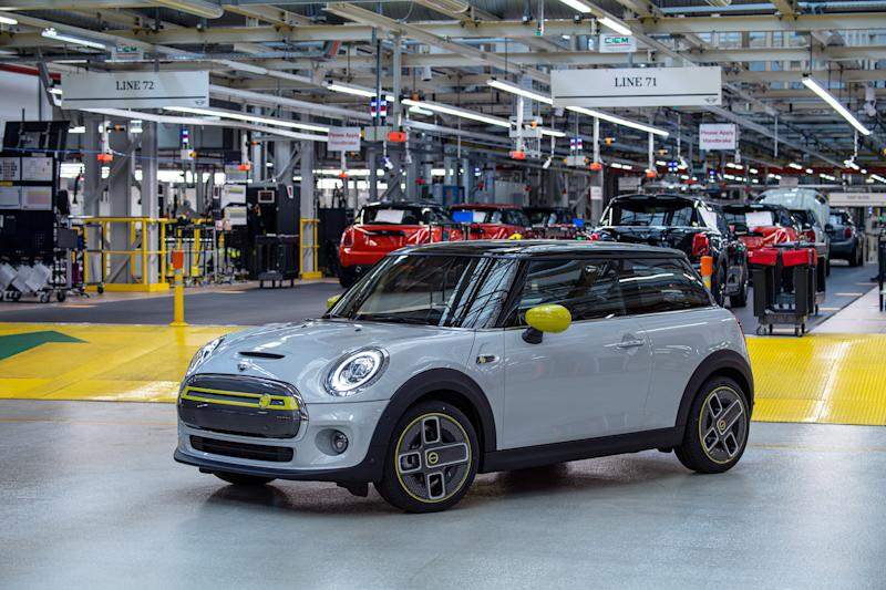 The new Mini Electric. Credit: BMW MINI