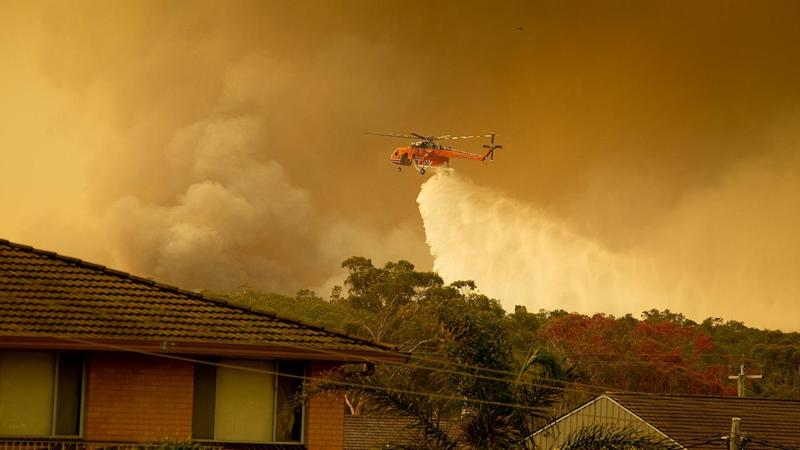 Emergency warnings have been issued for numerous bushfires burning across NSW