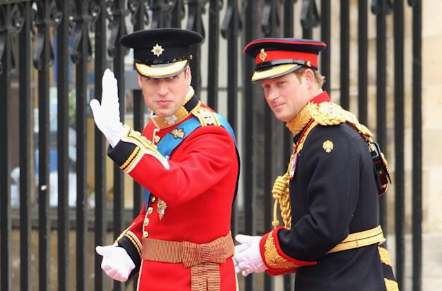 Prince Harry was best man at the 2011 royal wedding. (Photo: Dan Kitwood/Getty Images)