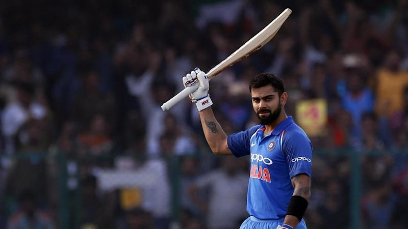 Holder sends back Kohli for 45 to jolt India