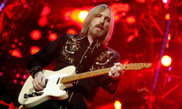 <p>The rock legend and frontman for the Heartbreakers died on Oct. 2 at age 66. He was a member of the Rock and Roll Hall of Fame and one of the bestselling artists in rock history. (Photo: Jason DeCrow/AP) </p>