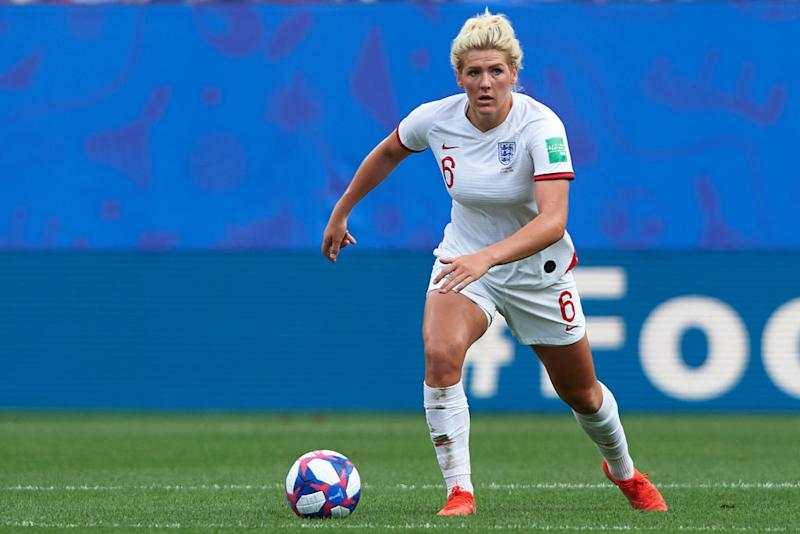 Millie Bright is also a doubt for the Norway clash. (Photo by Quality Sport Images/Getty Images)