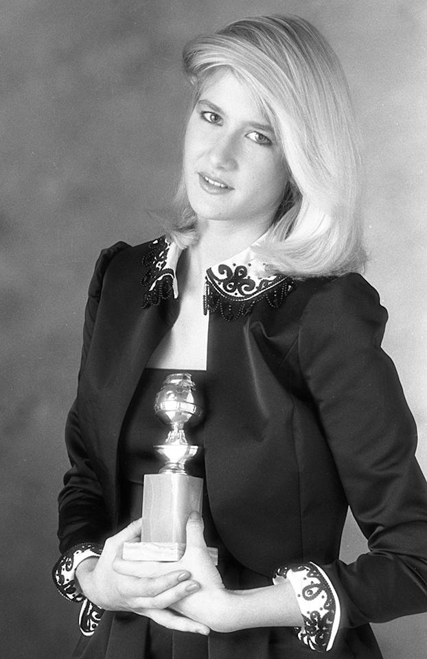 <p>The daughter of bona fide stars Bruce Dern and Diane Ladd, Laura was one of the rare recipients to carve out a career rivaling her parents', going on to win three Globes for her TV work and earning two Oscar nominations. (Photo: CBS/Getty Images) </p>