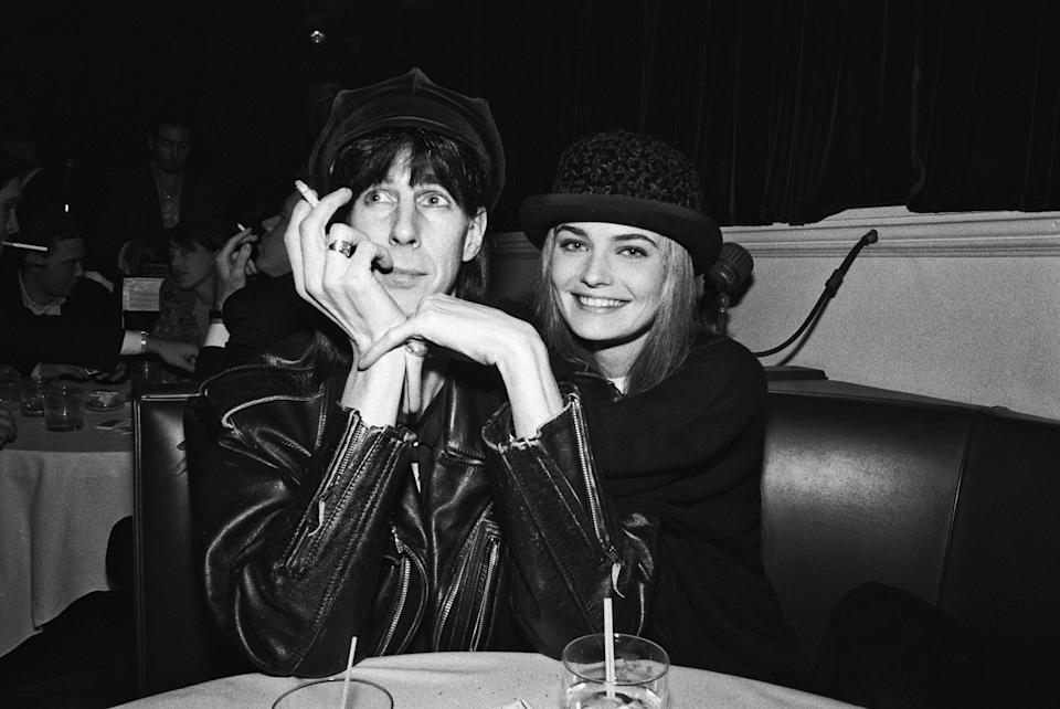Ric Ocasek and Paulina Porizkova in 1990. (Photo: Catherine McGann/Getty Images)