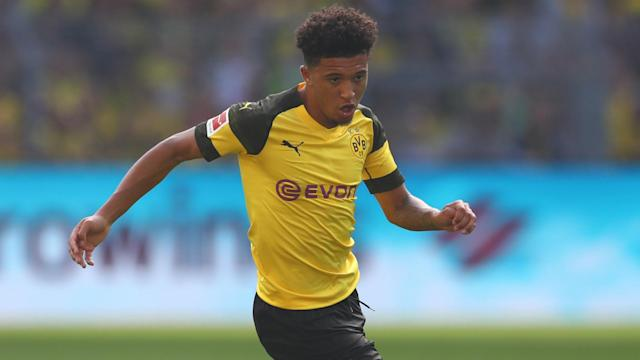 While Jadon Sancho misses his family and England, the 18-year-old believes he made the right decision moving to Borussia Dortmund.