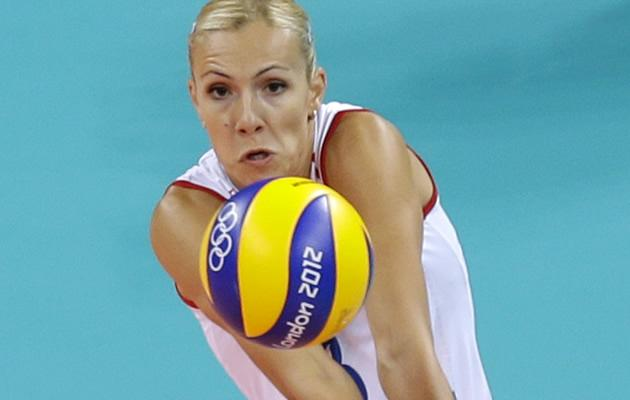 Serbian volleyball player Ivana Djerisilo (AP Images)