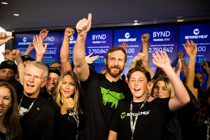 Vegan burger company Beyond Meat's IPO sizzles with $25 share price