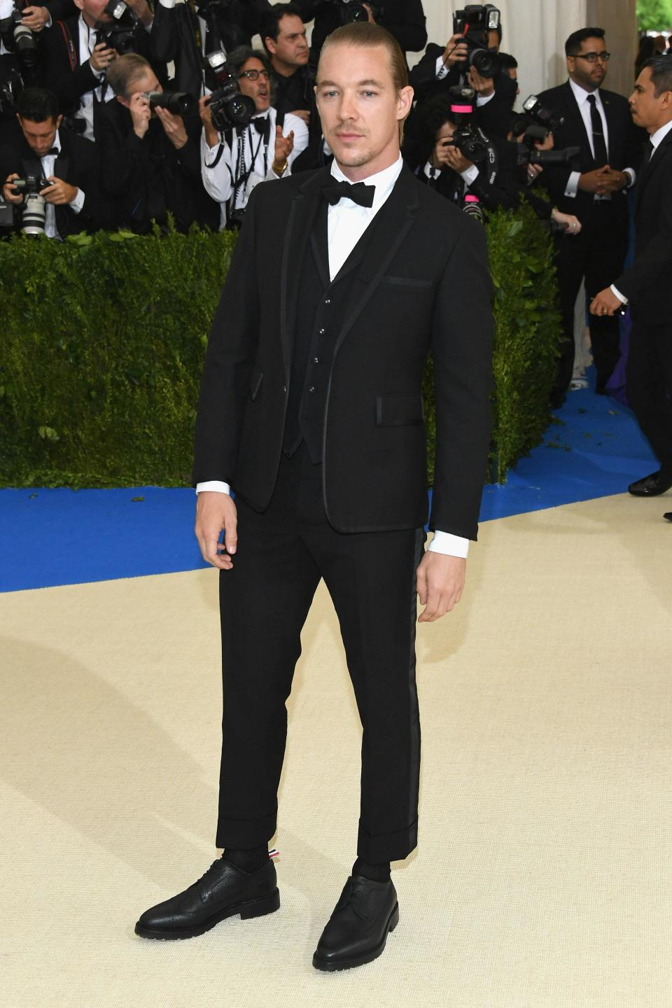"""<h1 class=""""title"""">Diplo in Thom Browne</h1> <cite class=""""credit"""">Photo: Getty Images</cite>"""