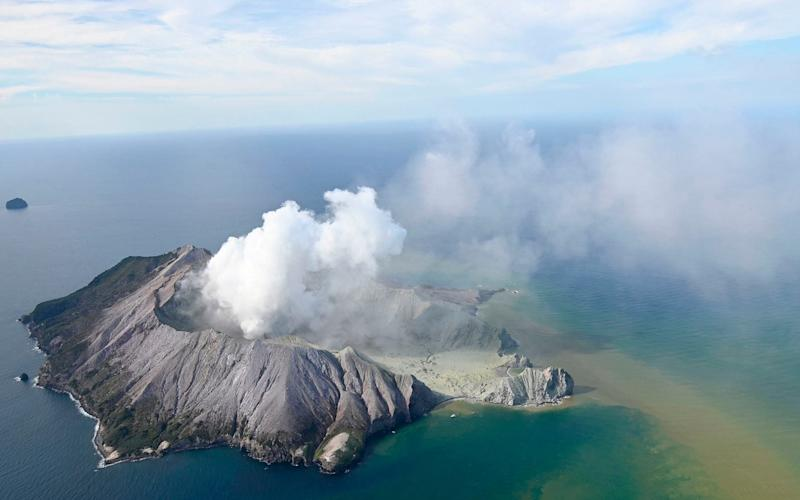 New Zealand volcano:White Island eruption leaves one person killed and tourists 'unaccounted for'