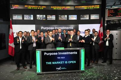 Purpose Investments Opens the Market (CNW Group/TMX Group Limited)