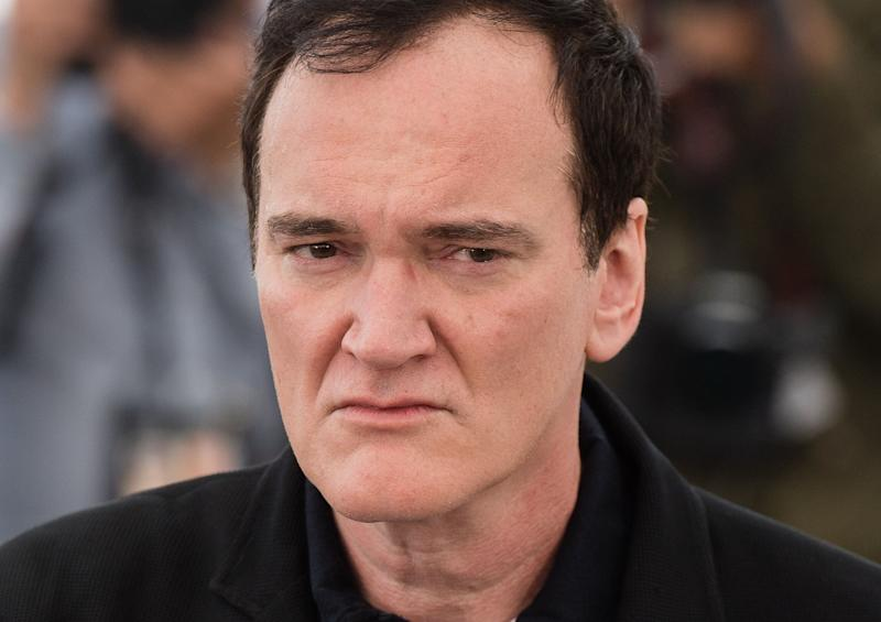 Director Quentin Tarantino posed at Cannes film festival for the premiere of film 'Once Upon a Time in Hollywood'