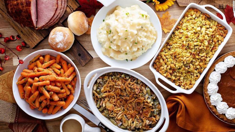 """<p>If you're open to Thanksgiving without a giant bird on the table, there are alternatives that can start new traditions that still feel festive.</p><div class=""""cnn--image__credit""""><em><small>Credit: Shutterstock / Shutterstock</small></em></div>"""