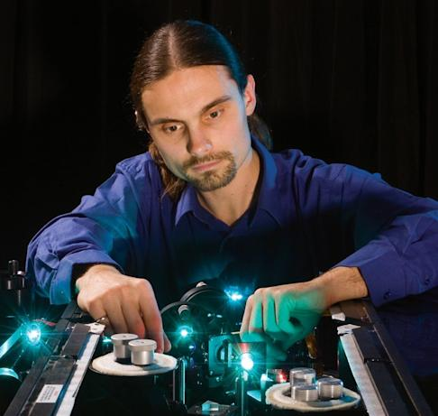 UBC engineering professor Lukas Chrostowski is an expert in the field of silicon photonics, with some of his research funded by Chinese tech giant Huawei. Photo: UBC / Janis Franklin