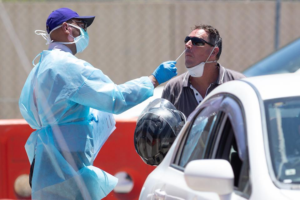 Mark McGowan has called for Commonwealth quarantine facilities to be used. Source: AAP