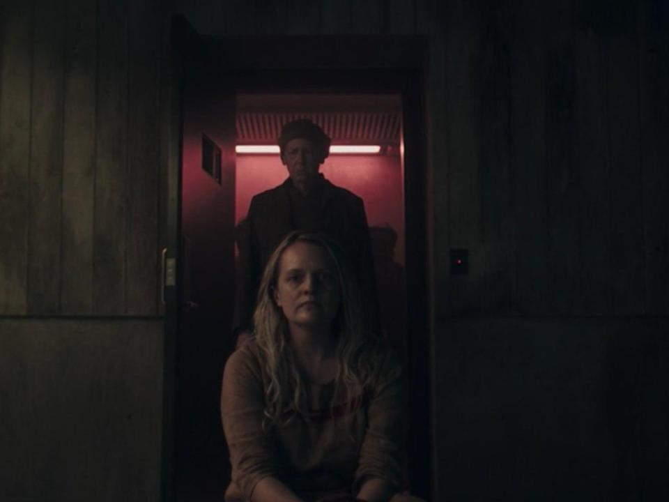Elisabeth Moss and Ann Dowd in season four episode three of 'The Handmaid's Tale' (Hulu)