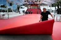 The famous Cannes red carpet in 2019. This year, it will be half the size and made of recycled material