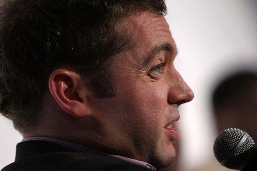 Michael Hastings, pictured in May last year, died in a car crash, his employer announced