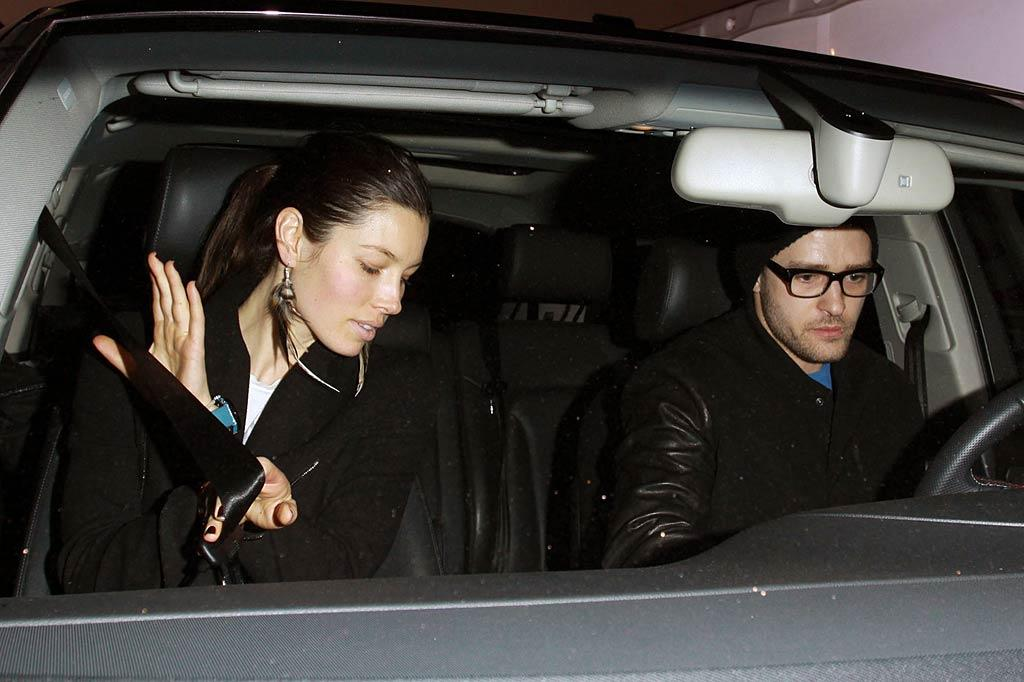 """Justin Timberlake and Jessica Biel recently had a huge """"public spat"""" over the subject of marriage at L.A.'s Chateau Marmont hotel, says In Touch. The """"bickering"""" got so """"ugly,"""" reports the mag, Biel """"walked out"""" on Timberlake. For what they were specifically arguing about, and whether they're now totally done, see what a Timberlake pal confides to <a target=""""_blank"""" href=""""http://www.gossipcop.com/justin-timberlake-fight-jessica-biel-chateau-marmont-argument-november-2011/"""">Gossip Cop.</a> (12/08/10)"""