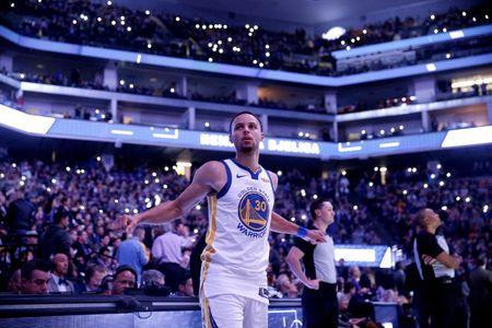 Jan 5, 2019; Sacramento, CA, USA; Golden State Warriors guard Stephen Curry (30) warms up before the start of a game against the Sacramento Kings at Golden 1 Center. Mandatory Credit: Cary Edmondson-USA TODAY Sports