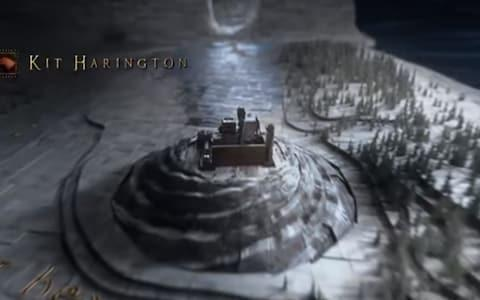 Well that hole in the wall is new... Season 8 credits for Game of Thrones