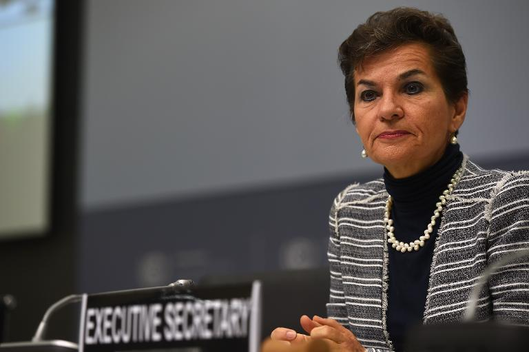"""Christiana Figueres, Executive Secretary of the United Nations Framework Convention on Climate Change, pictured on June 1, 2015, said, """"coupled with the economic imperative, the moral imperative leaves no doubt that we must act on climate change now"""""""