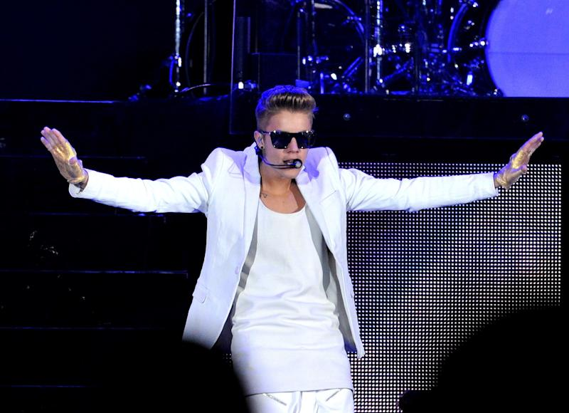 The kickoff of Bieber's Believe tour in South Africa brought his bouffant to the international level.