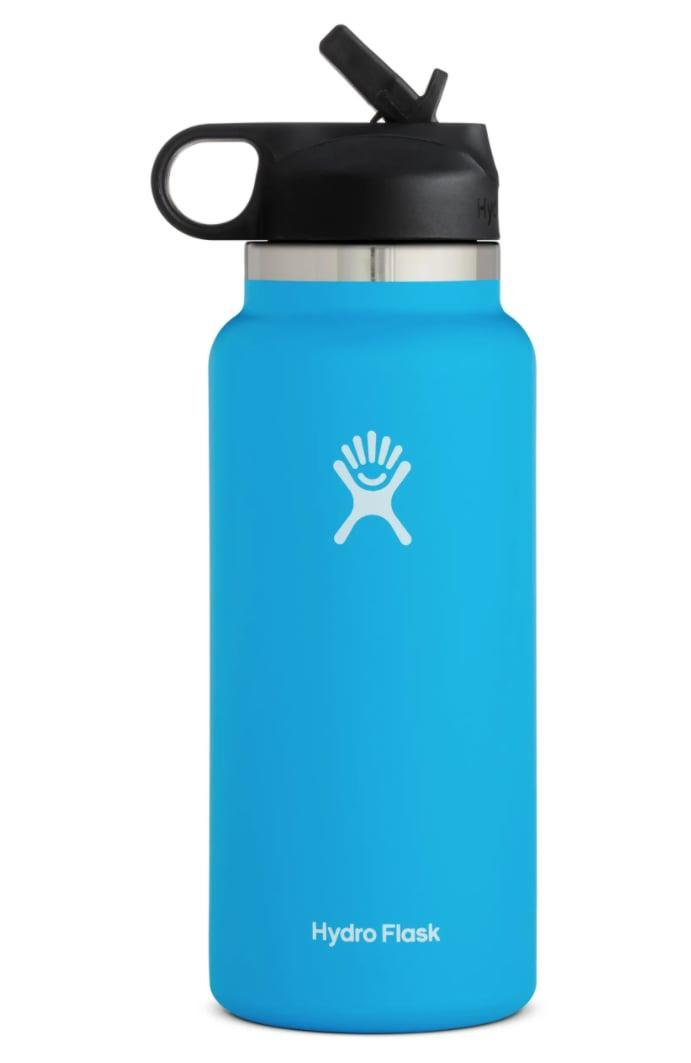 <p>Staying hydrated with this <span>Hydro Flask 32-Ounce Wide Mouth Bottle with Straw Lid</span> ($50) will be easy.</p>