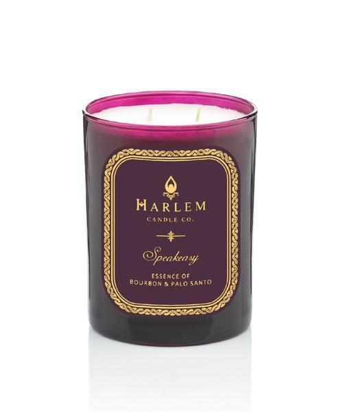 """<p><strong>Harlem Candle Company</strong></p><p>harlemcandlecompany.com</p><p><strong>$45.00</strong></p><p><a href=""""https://www.harlemcandlecompany.com/products/speakeasy-luxury-candle"""" rel=""""nofollow noopener"""" target=""""_blank"""" data-ylk=""""slk:Shop Now"""" class=""""link rapid-noclick-resp"""">Shop Now</a></p><p>You can't go wrong with this unique scent blend of cardamom, licorice, Palo santo, dark chocolate, and more intoxicating notes. The gorgeous packaging is also worth calling out. </p>"""