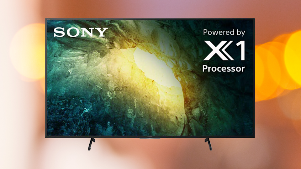 Save 35 percent on this Sony X750H 55-inch 4K Ultra HD LED TV. (Photo: Amazon)