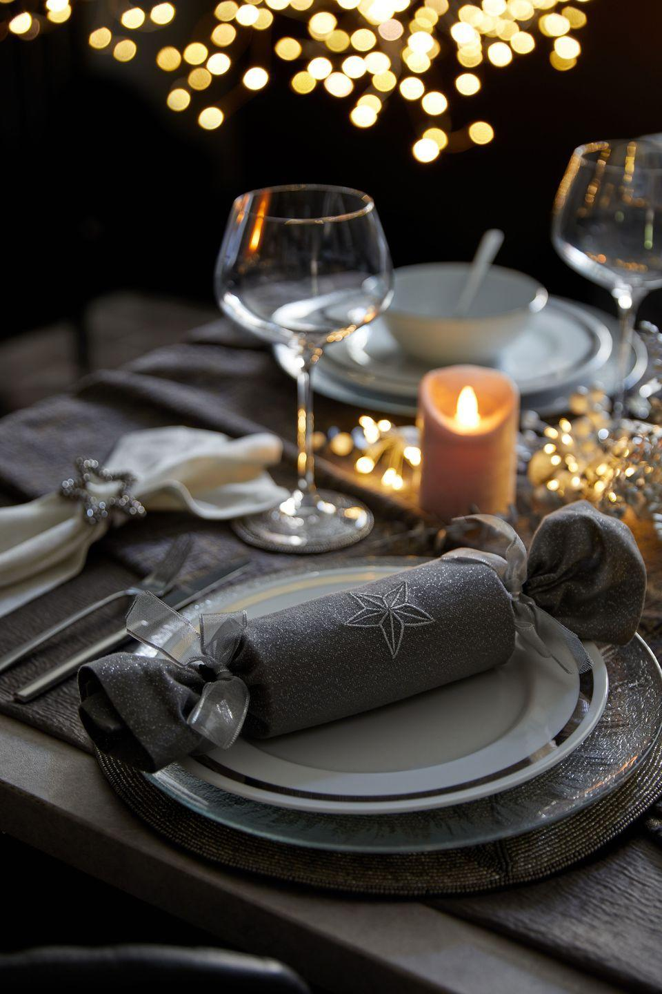 """<p>A huge part of festive celebrations orbit around the table, so it's important you decorate yours just right. Set the mood this Christmas with candles, fairy lights and a touch of sparkle. Whether you're entertaining or simply cooking for your household, the new range hits the spot. </p><p><strong>READ MORE</strong>: <a href=""""https://www.housebeautiful.com/uk/decorate/looks/a35055193/christmas-table-ideas/"""" rel=""""nofollow noopener"""" target=""""_blank"""" data-ylk=""""slk:How to decorate and style your Christmas table"""" class=""""link rapid-noclick-resp"""">How to decorate and style your Christmas table</a></p>"""