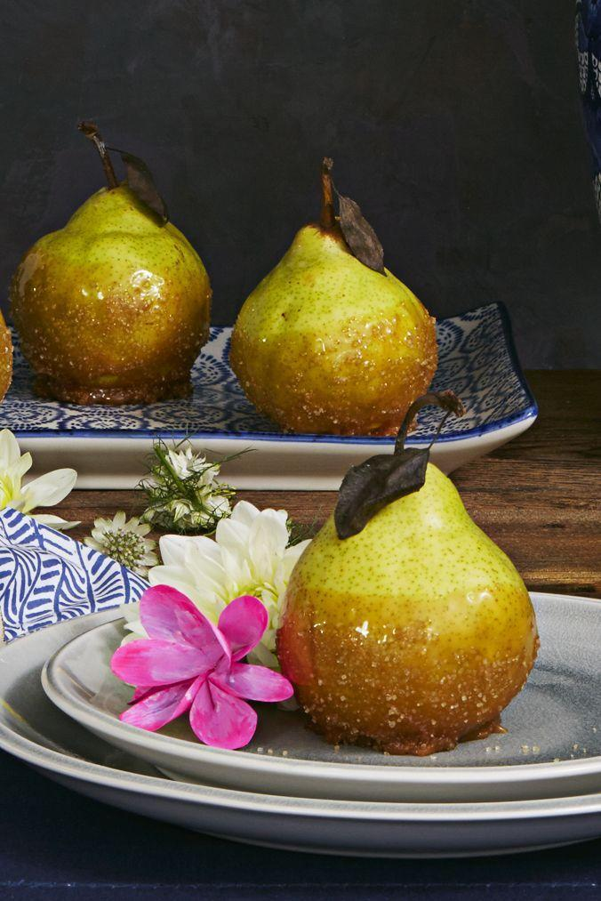 """<p>Wondering what to do with lots of pears? Good news: There are so many sweet and savory pear recipes to make if you suddenly find yourself with a full load of the fruit, or if you just want to switch up your go-to <a href=""""https://www.goodhousekeeping.com/food-recipes/g3658/best-apple-recipes/"""" rel=""""nofollow noopener"""" target=""""_blank"""" data-ylk=""""slk:apple recipes"""" class=""""link rapid-noclick-resp"""">apple recipes</a>. Try 'em poached, sliced into a salad, roasted with root veggies, or paired with juicy pork. Bake them into pies, crisps, crumbles and cobblers, or add them to your favorite <a href=""""https://www.goodhousekeeping.com/food-recipes/g28669841/best-classic-cocktails/"""" rel=""""nofollow noopener"""" target=""""_blank"""" data-ylk=""""slk:classic cocktails"""" class=""""link rapid-noclick-resp"""">classic cocktails</a> for a splash of sweetness. Ripe pears lend a juicy, refreshing flavor to everything they touch, and each variety (Anjou, Bartlett, Bosc, Comice, Seckel— the list goes on!) offers a different combo of sweet, tangy, mellow and crisp.</p><p>Healthy pear recipes, like fruit salad with Greek yogurt and honey, make great breakfasts, while pear matched with peppery greens and juicy steak makes the idea salad for lunch. Or maybe you're more of a <a href=""""https://www.goodhousekeeping.com/food-recipes/healthy/g4081/healthy-sandwiches/"""" rel=""""nofollow noopener"""" target=""""_blank"""" data-ylk=""""slk:healthy sandwich"""" class=""""link rapid-noclick-resp"""">healthy sandwich</a> person? The gorgeous grilled cheese with sweet pears, creamy Gouda and Dijon mustard in #15 practically brings tears to our eyes. Get ready to experiment with lots (and lots!) of pears this season.</p>"""