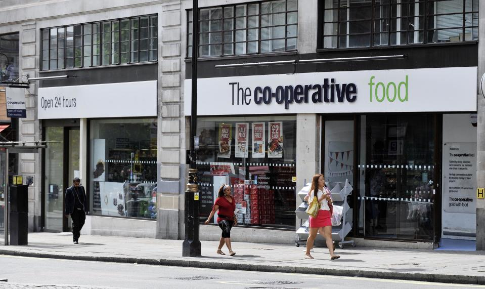 The Co-op's convenience store chain will donate food to students in localised lockdowns in 'hardest hit' areas.