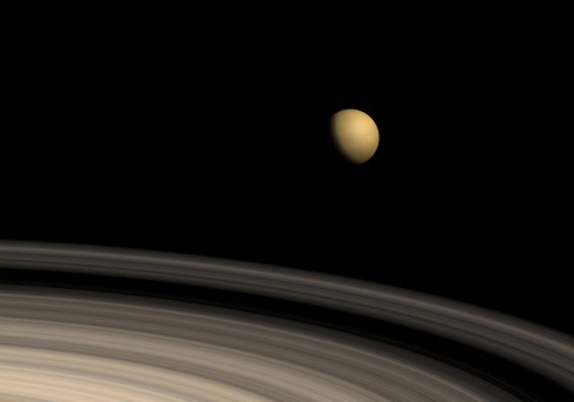 Why is Saturn's moon drifting away? (Getty)