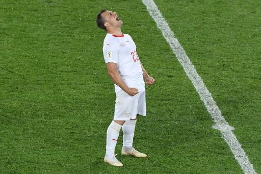 Xherdan Shaqiri was born in Kosovo but moved to Switzerland as a child