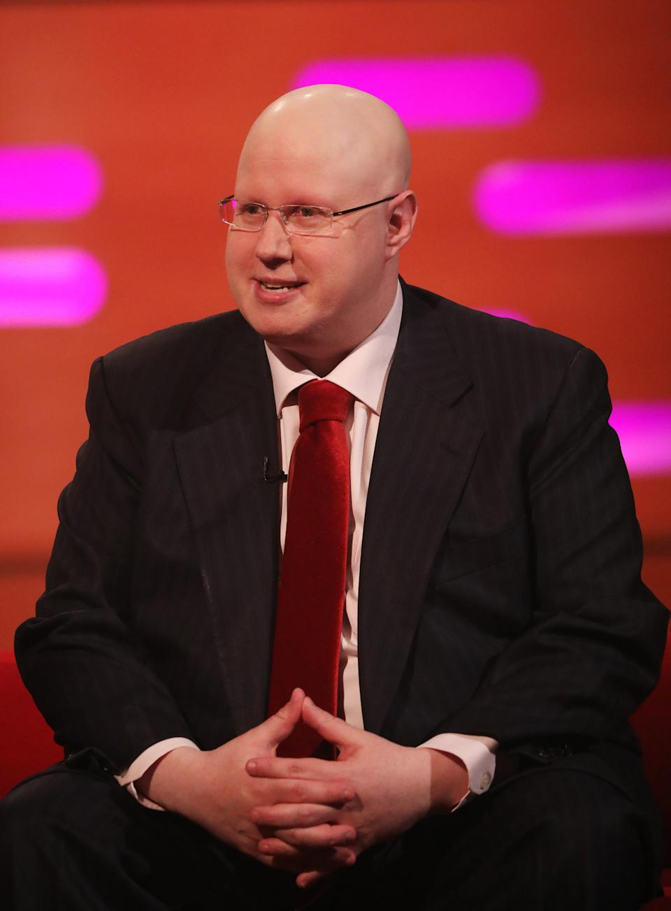 Embargoed to 1900 Sunday April 05 File photo dated 4/4/2019 of Matt Lucas whose charity song Thank You Baked Potato, which aims to raise money to help feed NHS workers, is on course to reach the top five in the UK singles chart.